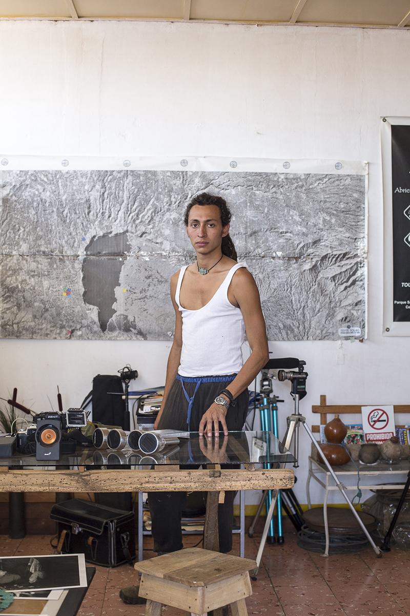 Oscar Duarte (30 anos) - fotografo y periodista.