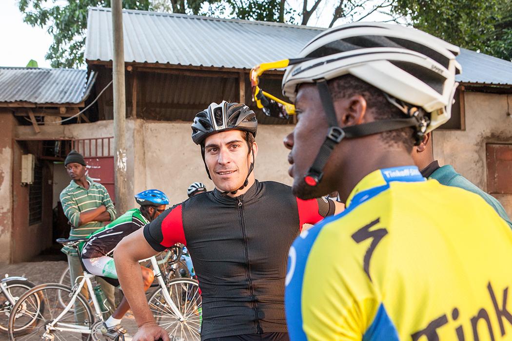 Bike Tour with Franco Marvulli/Velafrica - Arusha Tanzania